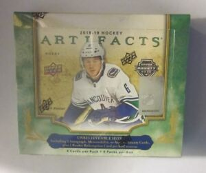 2018-19-Upper-Deck-Artifacts-Hockey-Hobby-Box