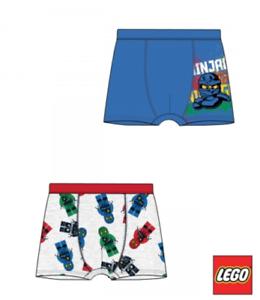 Ragazzi BAMBINI RAGAZZI LEGO NINJAGO 2pcs Boxer Biancheria Intima Età 4-10 anni
