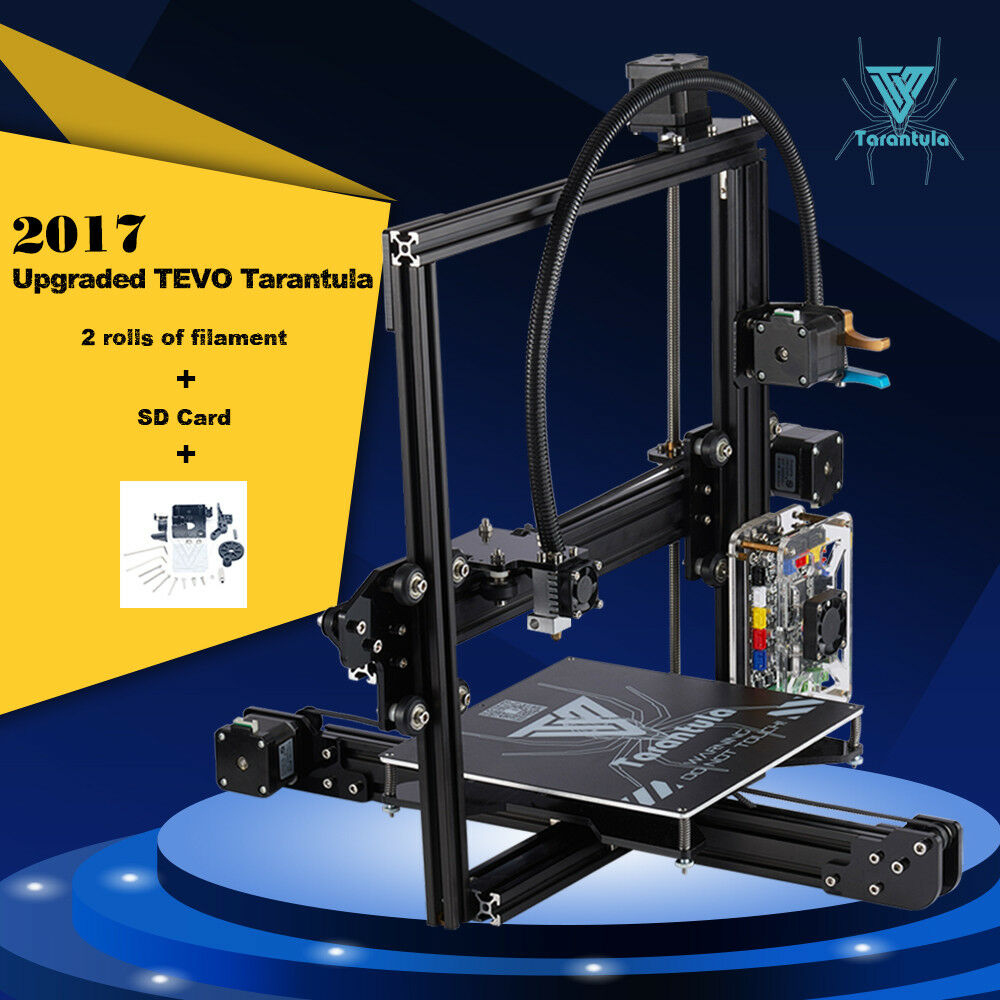 TEVO Standard Tarantula Prusa I3 DIY 3D Printer Kit 200x280x200mm Print US SHIP