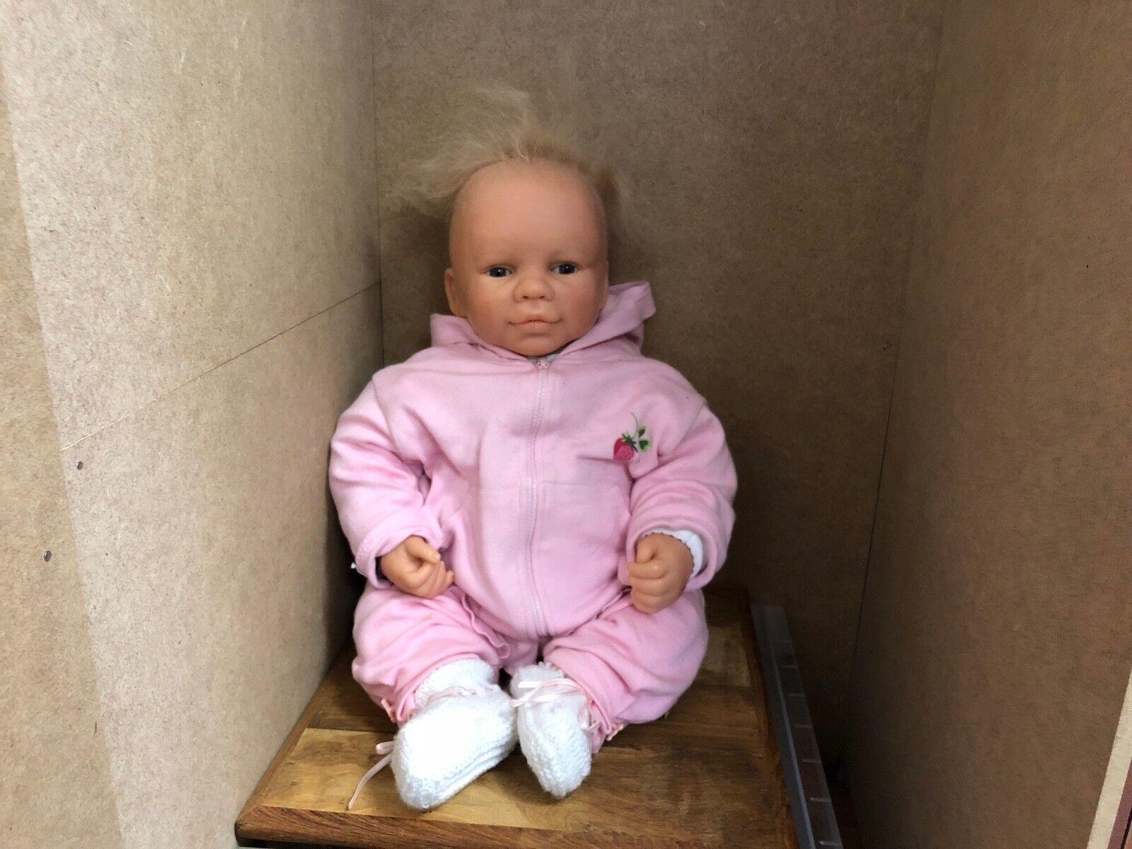 Artistas muñeca resin muñeca 51 cm. top estado
