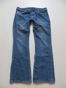 Diesel-ZATHAN-wash-0082D-Bootcut-Jeans-Hose-W-33-L-32-Vintage-Denim-KULT