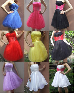Short-Prom-Party-Dress-Ball-Homecoming-Gown-Cocktail-Party-Evening-Dress-Sz-6-16