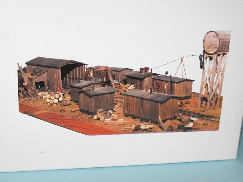Boyd logging camp  N SCALE BY JV MODELS
