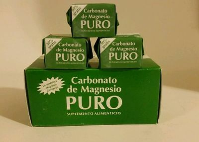 3X-carbonate de magnésium blocs {3} //// Carbonato de Magnesio Puro 3 Bloques!!!