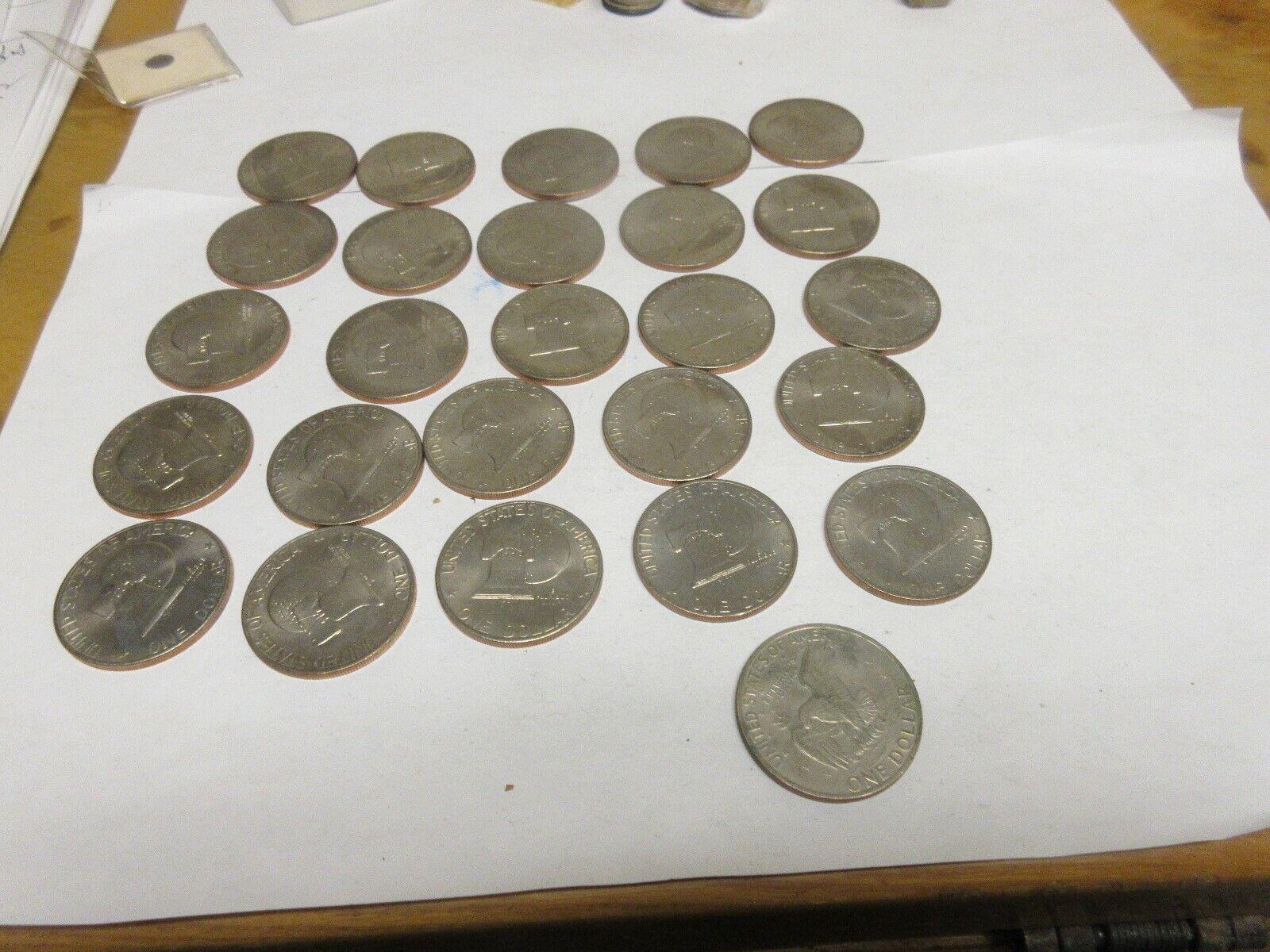 Eisenhower Dollar , Lot of 26 , 1776-1976 (25) 1972 (1)