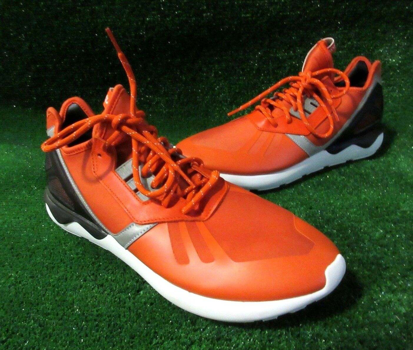 Adidas Hommes Tubular Tubular Hommes Coureur Chaussures Course Orange Taille 12 a0a613