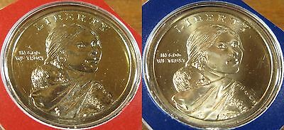 2000 P+D UNCIRCULATED SACAGAWEA DOLLAR STILL IN MINT CELLO NICE L@@K