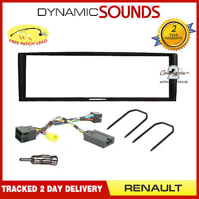 FORD Focus 2006 On Car Stereo Double Din Fascia ISO Lead Keys Aerial Fitting Kit