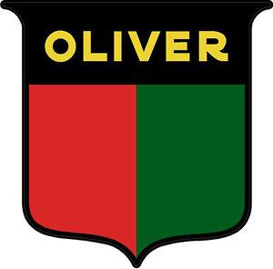 p270 1 6 oliver tractor logo sheild vintage tractor decal sticker rh ebay com oliver tractor emblem oliver tractor logo 1940