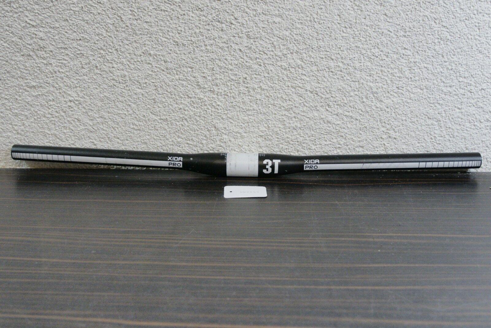 3TTT XIDA Pro Lenker Flatbar Schwarz 31,8mm Lenkerkl. 640mm Breite Kult Retro  | Shop