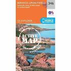 Berwick-Upon-Tweed by Ordnance Survey (Sheet map, folded, 2015)