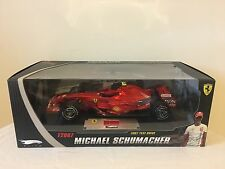 Hotwheels Ferrari F2007 Test Drive Elite Schumacher Barcelona N5423 Mattel 1/18