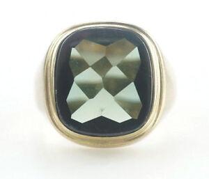Ring-333er-Gold-Turmalin-Goldring-Goldschmuck-Turmalinring-6-Gramm-Gr-61