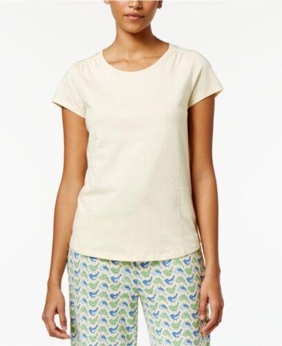 Charter Club Scoop-Neck Cotton Pajama T-Shirt