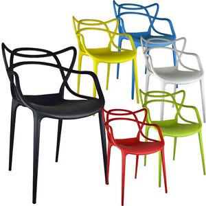 Retro Chair Bar Stool Dining Lounge Kitchen Home Modern