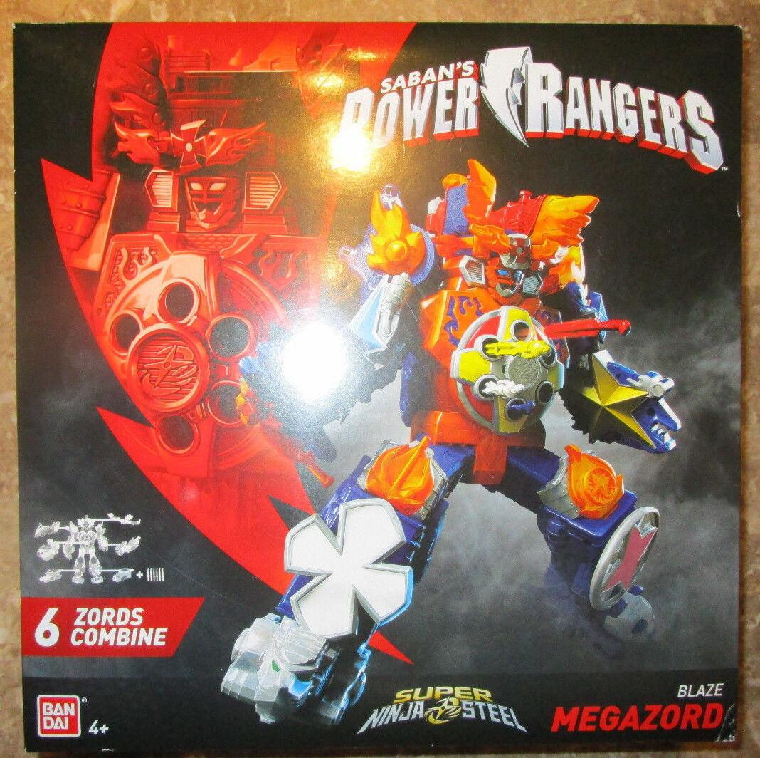 POWER RANGERS SUPER SUPER SUPER NINJA STEEL BLAZE MEGAZORD 2018 43740 Gekiatsu Dai-Oh cf6707