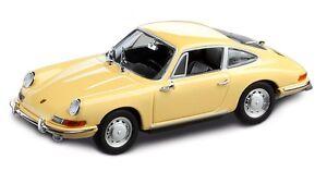 Original Porsche 911 F 1963 Limitier Modell, champagnergelb<wbr/>, 1:43 ** WAP0209110H