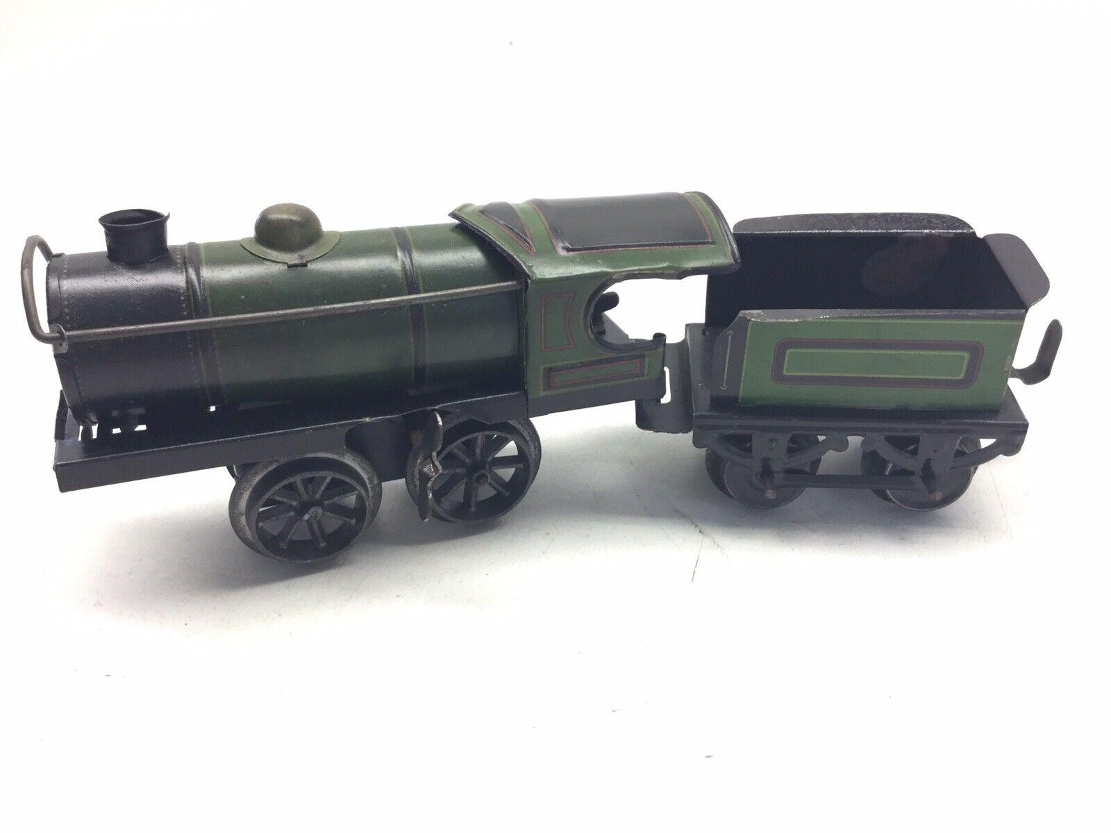 Relojes viejos, locomotoras de cuero y jóvenes alemanes verdes y negros.