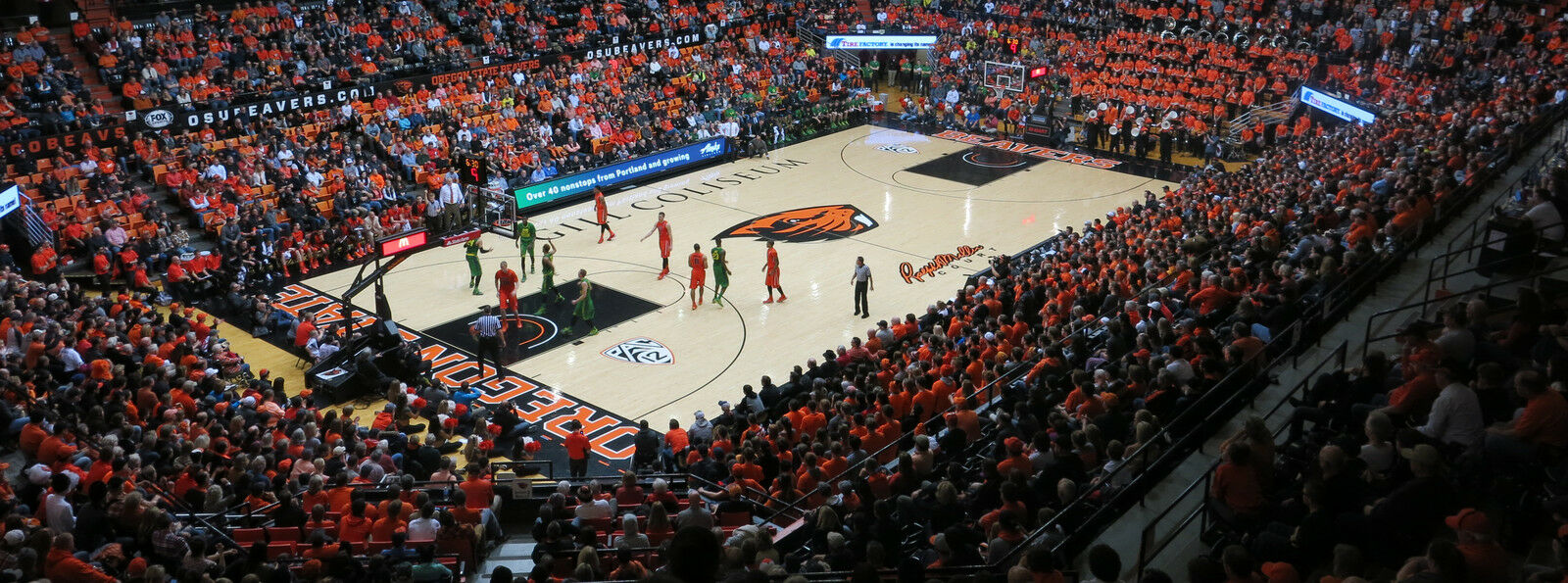 Washington State Cougars at Oregon State Beavers Basketball