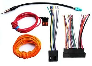 porsche radio stereo installation wiring harness kit for bose image is loading porsche radio stereo installation wiring harness kit for