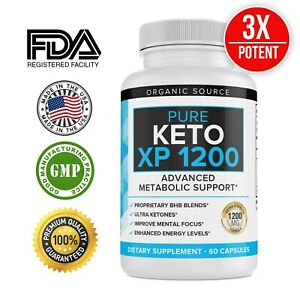 Keto XP Pills Fast Weight Loss Supplement, 60 Capsules For Men and Women