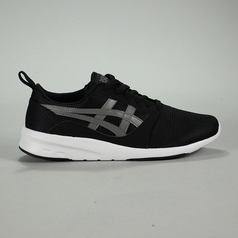 Asics Lyte Jogger Trainers Black new in box UK Size 6,7,8,9,10
