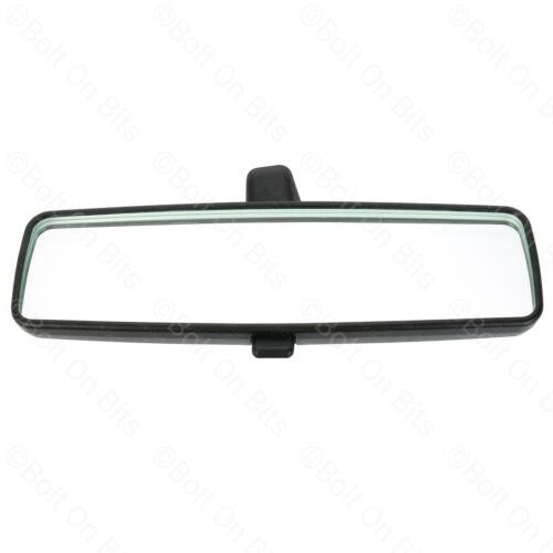 Genuine Fiat Rear View Mirror Wider BLACK Panda 2003 to now 1.2 1.3 1.4