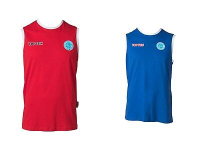 """Gara-shirt Top Ten """"wako"""" Tg S-xxl, In Quattro Colori, Allenamento, Fitness,- Buoni Compagni Per Bambini E Adulti"""
