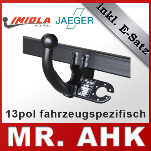 VW Sharan 7M 95-00 Anhängerkupplung AHK starr 13pol spe E-Satz