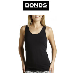 1e3f9a945eb80 Image is loading Womens-Bonds-Stretchy-Chesty-Tank-Top-Classic-Iconic-