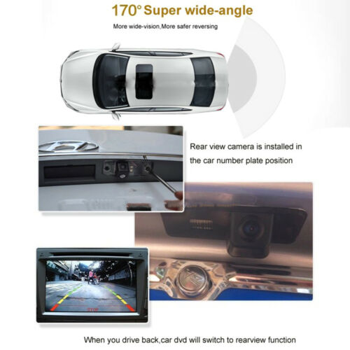 Car Rear View Reverse Back Up Camera for Porsche Cayenne S GTS Turbo S Macan 95B