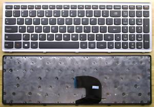 Non-Backlit-Keyboard-for-Lenovo-IdeaPad-P500-Z500-Z500A-Z500G-Silver-Frame