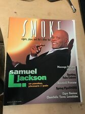 Smoke Magazine Spring 1998 Samuel L. Jackson Spotting Fake Cuban Cigars