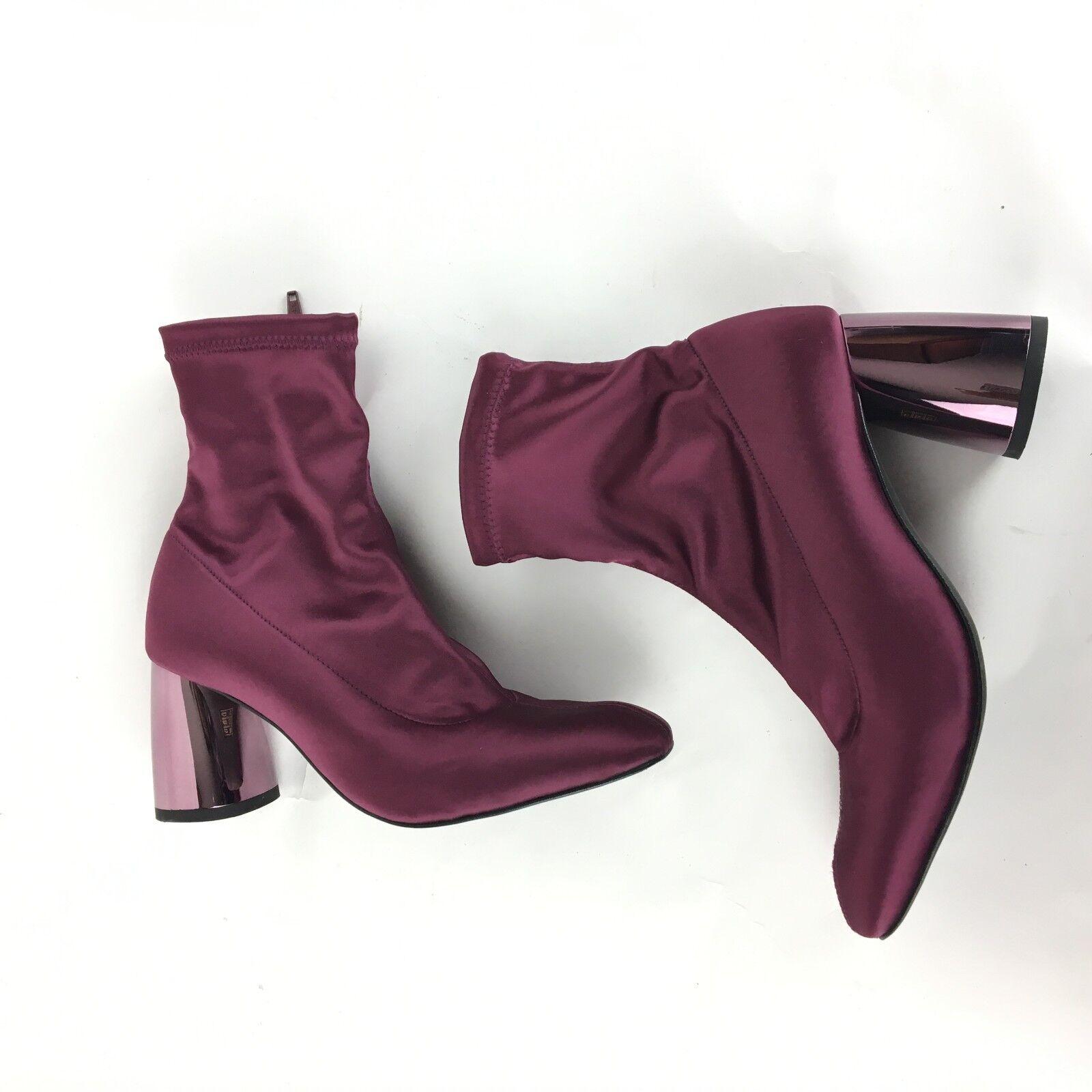 New Free People Spectrum Sock Boot Purple Ankle Boot Casual Größe 38 198