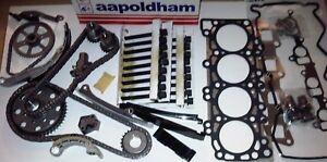 Convient-pour-NISSAN-X-TRAIL-2-2-Di-dCi-Diesel-Timing-Chain-Kit-Joint-de-culasse-SET