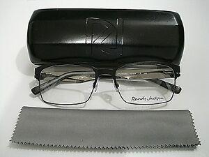 75a1c09d391e Randy Jackson RJ 1049 RJ1049 021 Black Eyeglasses Rx-Able Frame ...