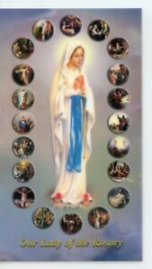 MYSTERIES-OF-THE-ROSARY-Laminated-Holy-Cards-QUANTITY-25-CARDS