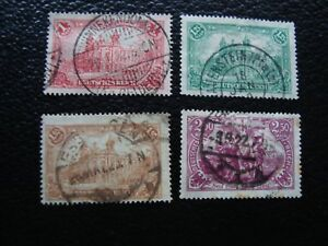 Germany-Stamp-Yvert-and-Tellier-N-112-A-114-Obl-115-Rust-A5-Stamp