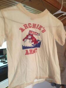 76461daab Vintage Archie's Army Ole Miss Rebels t-shirt Kids Size 12   eBay
