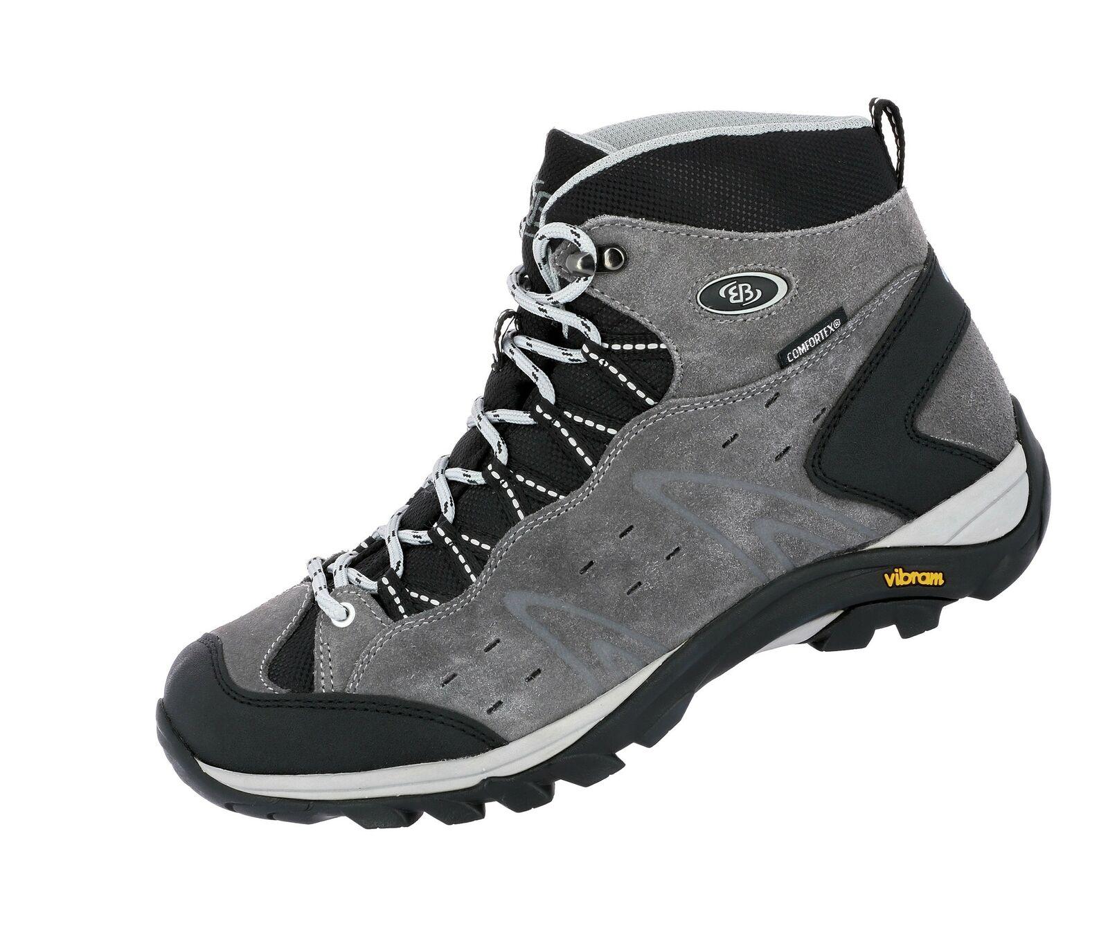 Brütting Outdoorschuh Wanderschuh grey Trekking Comfortex Mount Bona High