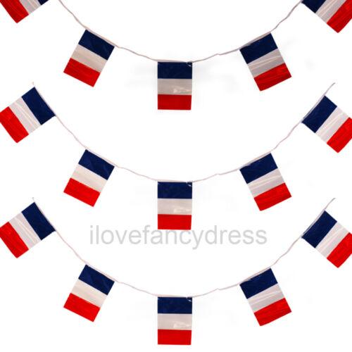 Grand 200ft français Bunting GRAND PAVILLON FRANCE décoration 60 mètres Bastille day