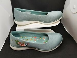 great fit cheap for sale meet Skechers Micoburst Garden Party Heather Jersey Skimmer Trainers ...