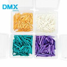 100 Pcs Dental Fixing Wooden Wedges For Restoration Dmx Dental