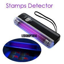 Long Wave Ultra Violet Handheld UV Lamp for Detecting Fluorescences Stamps
