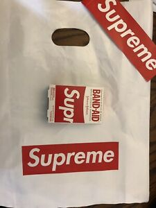 20 Bandages Supreme SS19 Band Aid Brand New Box