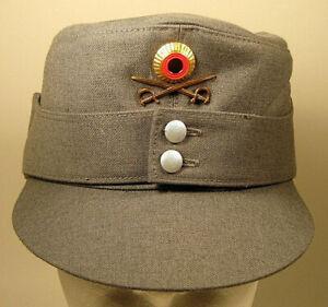 German Mountain Troops Gebirgsjäger Edelweiss Insignia Hat Cap Device Badge