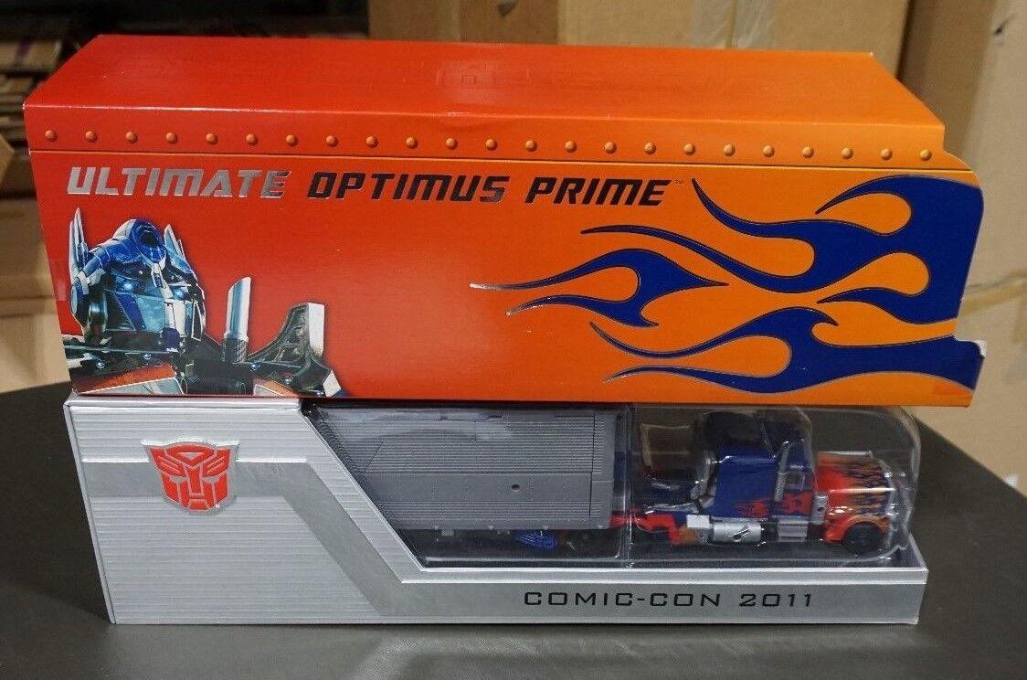 Envío 100% gratuito Ultimate Optimus Prime Transformers Sdcc Exclusivo 2011 2011 2011 Comic-con MIB  minoristas en línea