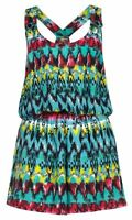 Primarkgreen Aztec Print Playsuit Aztec Cover Up Swimming Beach Summer Festival