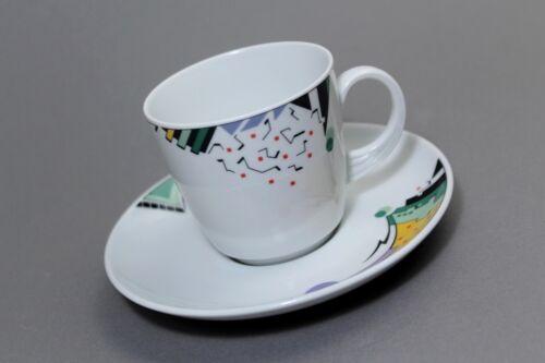 Seltmann Weiden Scarlett Joy Coffee Cup 2tlg Abstract Pattern!!! !!