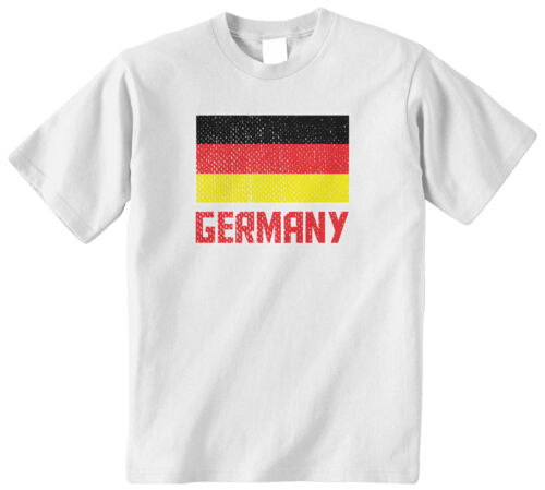 Threadrock Kids Flag of Germany Youth T-shirt German Soccer Football
